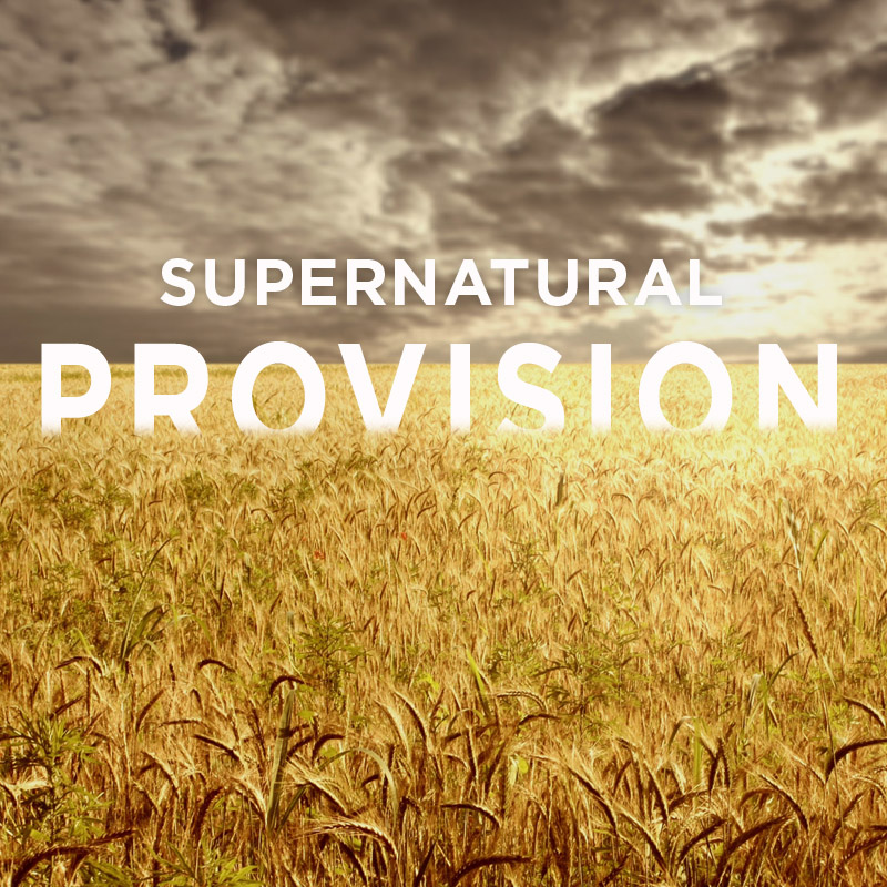 Supernatural Provision - Four Wealthy Lepers