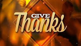 The Joy of Giving Thanks!